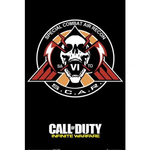 Call Of Duty Infinite Warfare Poster Scar 249
