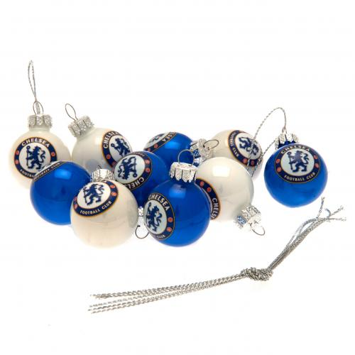 Chelsea F.C. 10pk Mini Baubles