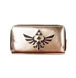 Zelda - Zip Around Wallet, Black / Gold Triforce