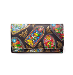 Zelda - Windwaker - Folded Wallet, Stained Glass