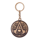 Assassin's Creed IV - Round Metal Crest&Skull