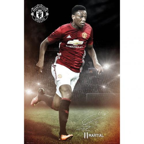 Manchester United F.C. Poster Martial 23