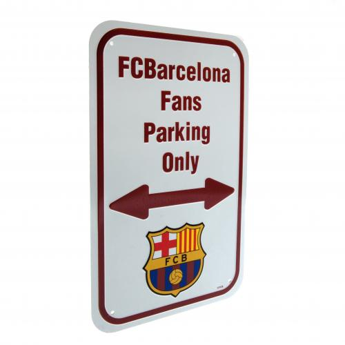 F.C. Barcelona No Parking Sign