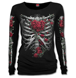 Rose Bones - Baggy Top Black