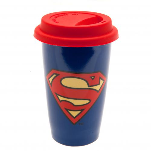 Superman Ceramic Travel Mug