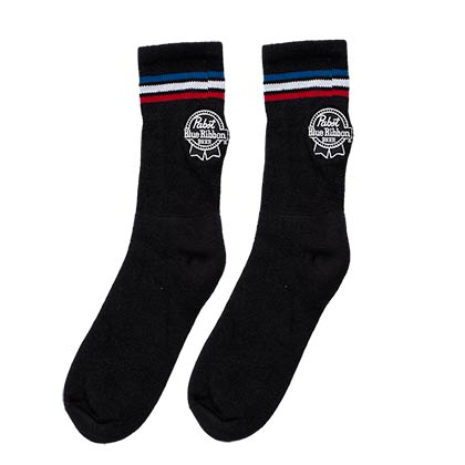 Pabst Blue Ribbon Crew Socks