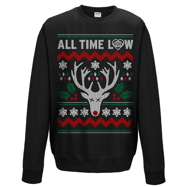 All Time Low Sweatshirt Rudolph