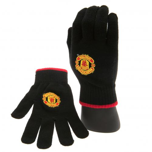 Manchester United F.C. Knitted Gloves Adult