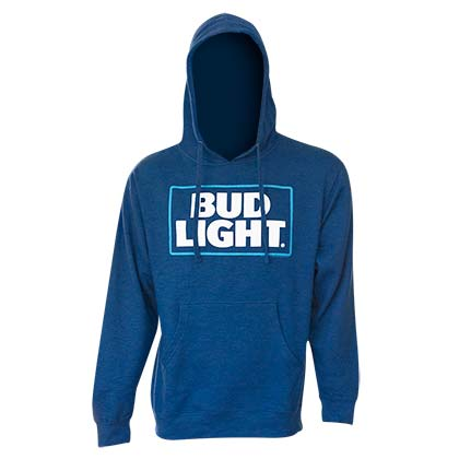 BUD LIGHT Logo Royal Blue Hoodie