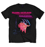 Black Sabbath Men's Tee: Paranoid Motion Trails