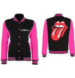 The Rolling Stones Ladies Varsity Jacket: Classic Tongue