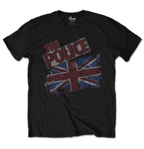 The Police Men's Tee: Vintage Flag
