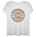 The Beatles Ladies Fashion Tee: Sgt Pepper