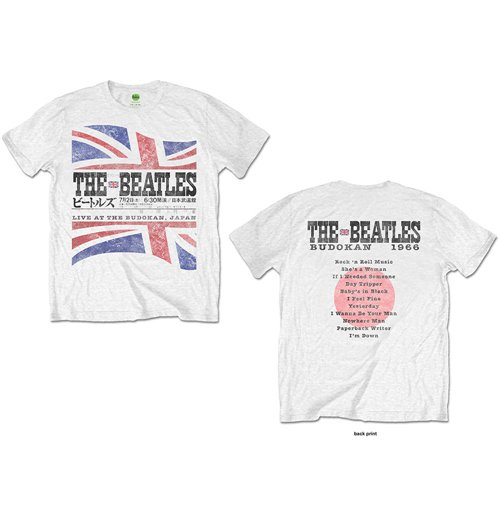 The Beatles Men's Tee: Budokan Set List