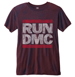 Run DMC Men's Fashion Tee: Logo Vintage