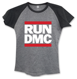 Run DMC Ladies Fashion Tee: Logo