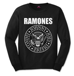 Ramones Men's Long Sleeve Tee: Presidential Seal