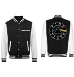 Pink Floyd Men's Varsity Jacket: Dark Side of the Moon Circle Logo