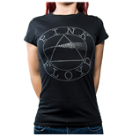 Pink Floyd Ladies Fashion Tee: Circle Logo