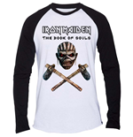 Iron Maiden Men's Raglan Tee: Axe Colour