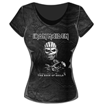 Iron Maiden Ladies Fashion Tee: The Book of Souls