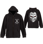 Iron Maiden Men's Hooded Top: Eddie Axe