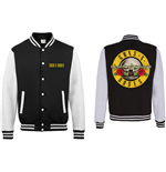 Guns N' Roses Men's Varsity Jacket: Circle Logo