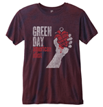 Green Day Men's Fashion Tee: American Idiot