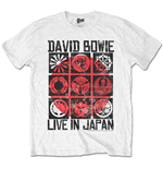 David Bowie Men's Tee: Live in Japan