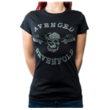 Avenged Sevenfold Ladies Fashion Tee: Deathbat