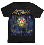 Anthrax Men's Tee: For All Kings Cover