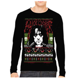 Alice Cooper Mens Sweatshirt: Holiday 2015