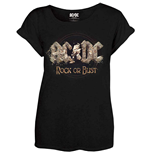 AC/DC Ladies Tee: Rock or Bust