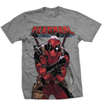 Marvel Comics Men's Tee: Deadpool Big Print
