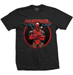 Marvel Comics Men's Tee: Deadpool Crossed Arms