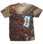 Marvel Comics Premium Tee: Deadpool Bang