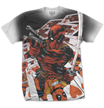 Marvel Comics Premium Tee: Deadpool Cards