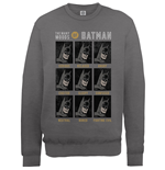 DC Comics Men's Sweatshirt: The Many Moods of Batman