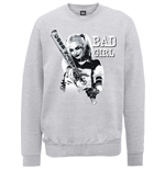 DC Comics Men's Sweatshirt: Suicide Squad Bad Girl