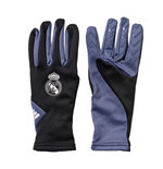 2016-2017 Real Madrid Adidas Fieldplayer Gloves (Black)