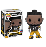 NFL POP! Football Vinyl Figure Antonio Brown (Steelers) 9 cm
