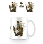 Star Wars Rogue One Mug Cassian Profile