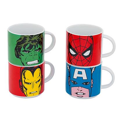 Official Marvel Comics Ceramic Mug Set Buy Online On Offer