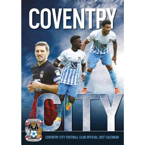 Coventry City F.C. Calendar 2017