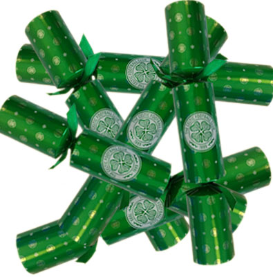 Celtic F.C. 6pk Luxury Christmas Crackers