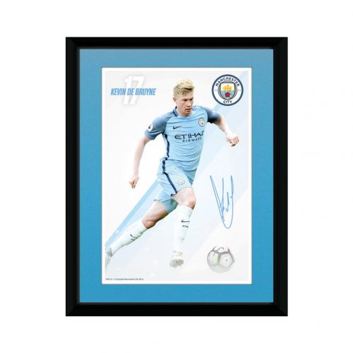 Manchester City F.C. Picture De Bruyne 8 x 6