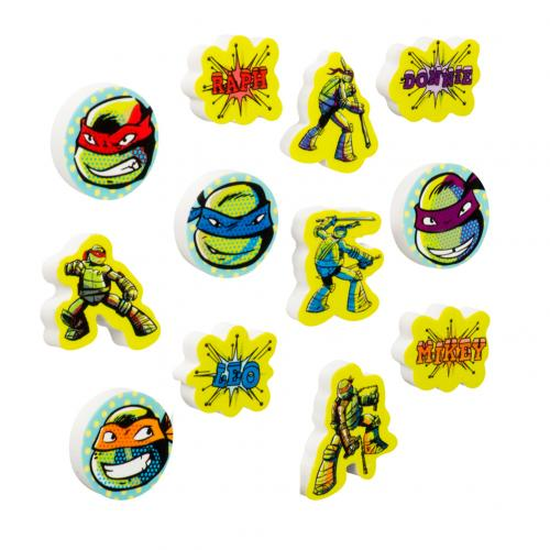 Teenage Mutant Ninja Turtles 12pk Erasers