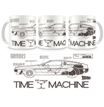 Back to the Future Mug Time Machine