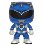 Power Rangers POP! Television Vinyl Figure Blue Ranger (Metallic) 9 cm