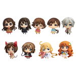The Idolmaster Cinderella Girls Vol. 01 Mini Figures 5 cm Chibi Minicchu Assortment (9)